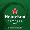 james bond&heineken